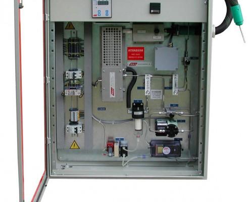 Coffret d'analyse d'oxygène avec prélèvement chauffé pour 8870 zirconium