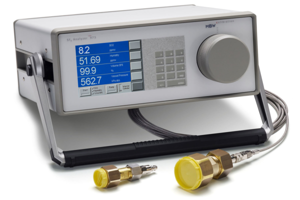 Analyseur MBW 973-SF6 pour pureté SF6, H2O et SO2