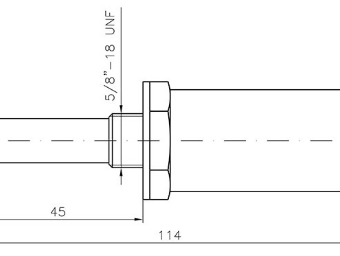 Dimensions itransmetteur DEWCom