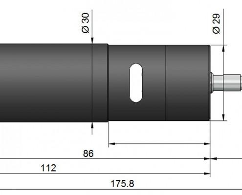 Capteur RP2 pour MBW 473. Hygromètre à miroir refroidi, hygromètre à condensation, hygromètre de référence, hygromètre étalon, hygromètre de laboratoire, haute précision ±0,10°C rosée, grande exactitude, faible EMG, mesure de température de rosée, mesure de point de rosée, mesure d'humidité absolue, mesure de trace d'humidité, mesure d'humidité relative, mesure de température, laboratoire national.