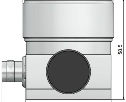 Tête de mesure SH2 pour hygromètre à condensation MBW 473. Hygromètre à miroir refroidi, hygromètre de référence, hygromètre étalon, hygromètre de laboratoire, haute précision ±0,10°C rosée, grande exactitude, faible EMG, mesure de température de rosée, mesure de point de rosée, mesure d'humidité absolue, mesure de trace d'humidité, mesure d'humidité relative, mesure de température, laboratoire national.