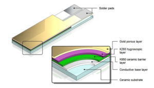 Capteur nano technologie bi-ceramic
