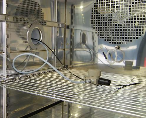 miroir refroidi MBW 473 SH2 enceinte climatique caractérisation