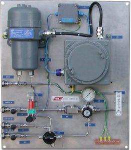 Analyseur pureté H2 générateur électricité refroidi H2