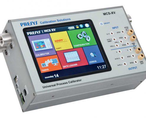 Calibrateur portable électricité température pression fréquence