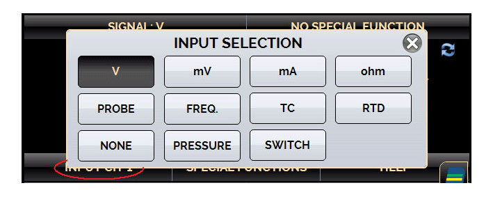 calibrateur fréquence température pression
