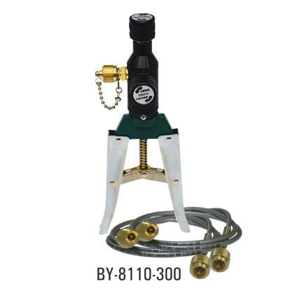 pompe calibration pression pneumatique