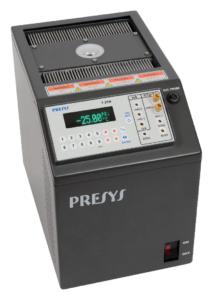 étalonnage sonde température négative PT100 portable refroidi Peltier