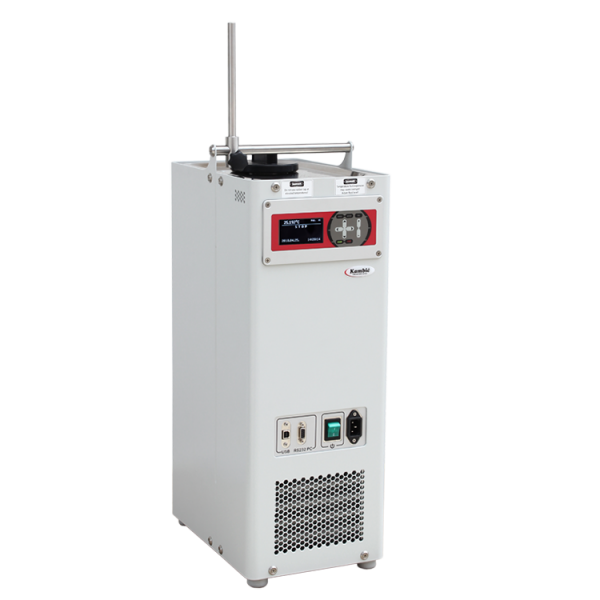 Calibration sur site avec Kambic OBM-LT. Vidange huile silicone simplifiée