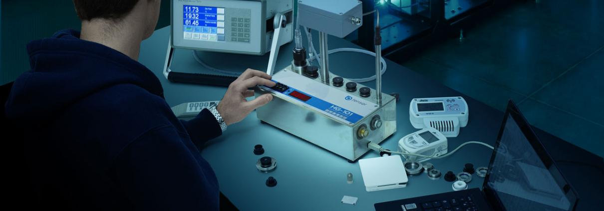 Uniformité et stabilité pour étalonnages humidité relative en laboratoire