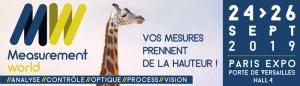 MEASUREMENT WORLD se tiendra du 24 au 26 septembre 2019 à Paris expo Porte de Versailles