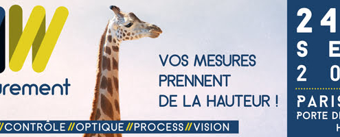 MEASUREMENT WORLD se tiendra du 24 au 26 septembre 2019 à Paris expo Porte de Versailles