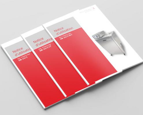 Notices d'utilisation bains d'étalonnage série OB 22