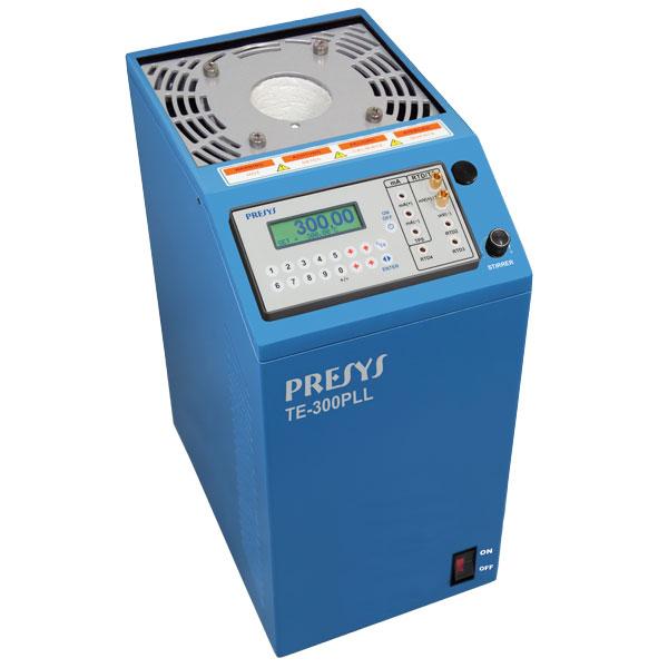 étalonnage de sondes de température de +35 à +300°C et pyromètres, capteur de contac