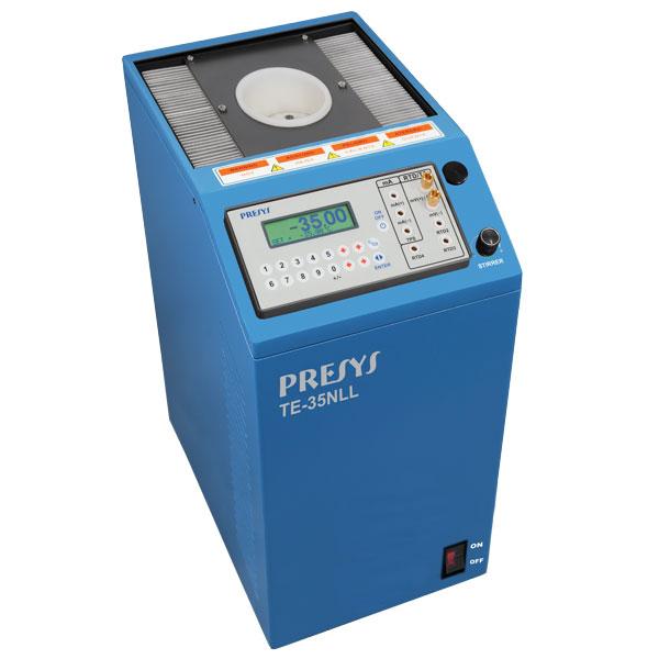 étalonnage de sondes de température de -35 à +140°C et pyromètres, capteur de contact