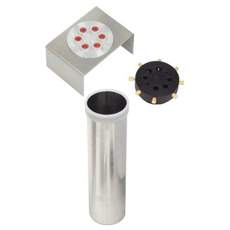 insert interchangeableétalonnage de sonde de température en huile silicone