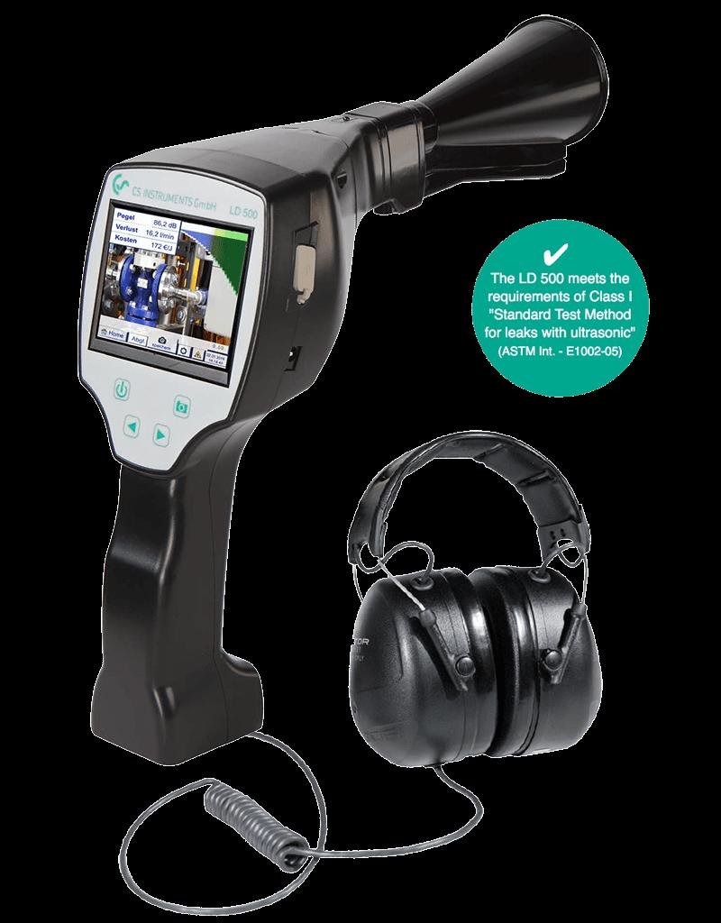 LD-500 détecteur de fuite avec caméra