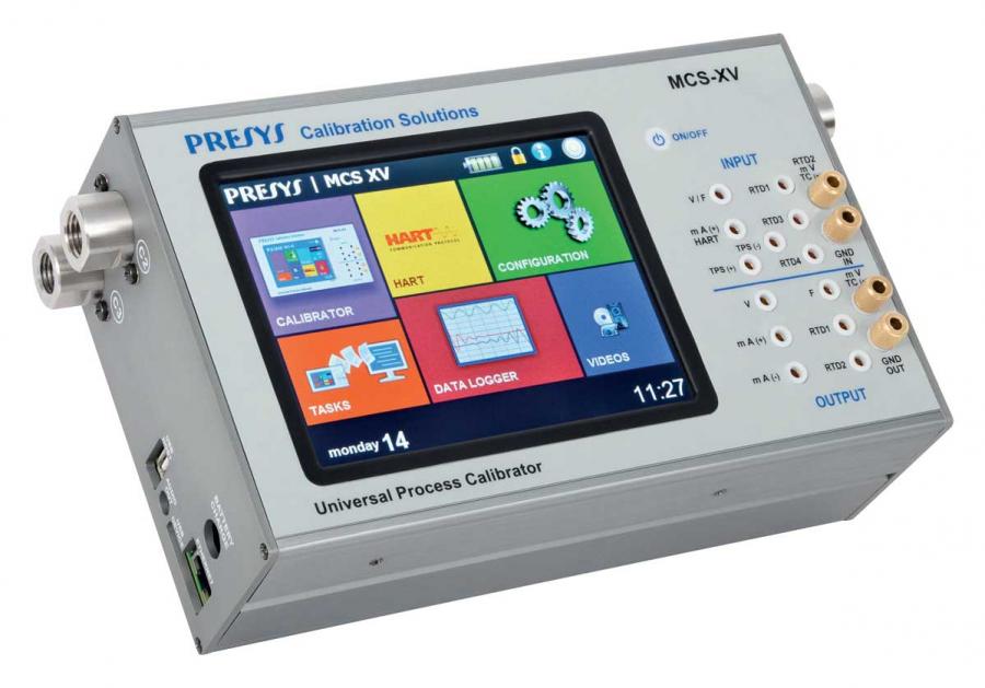 MCS-XV calibrateur de process multifonction PRESYS